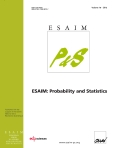 ESAIM: Probability and Statistics (ESAIM: P&S) Cover page